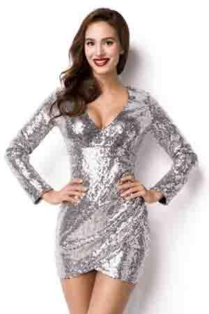 Pailletten jurk